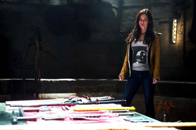 Teenage Mutant Ninja Turtles Star Megan Fox