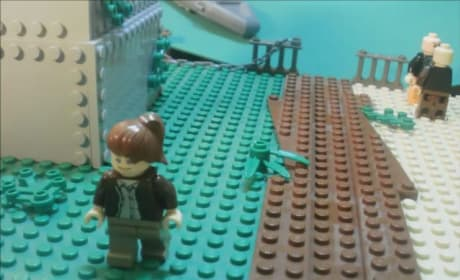 The Hunger Games Trailer: Done With Legos!