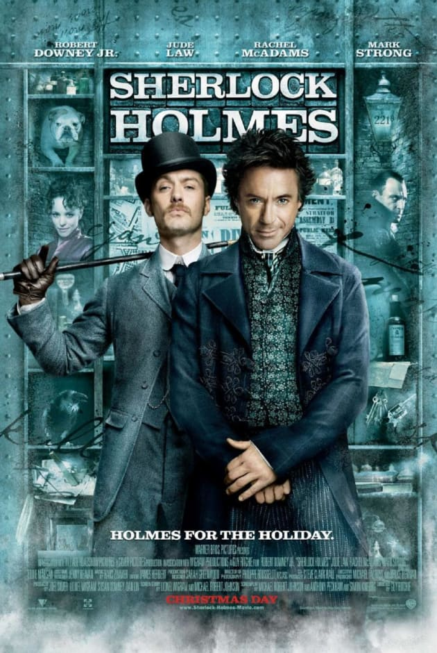 Sherlock Holmes Holiday Poster