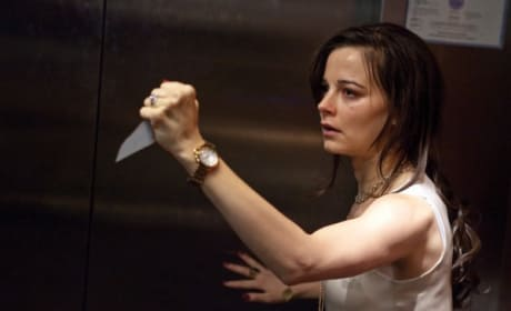 Bojana with a Blade