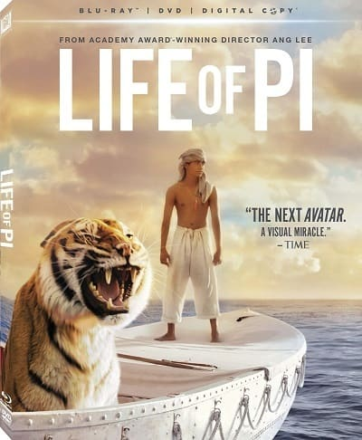 The Life of Pi DVD Cover