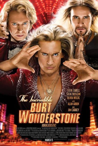 The Incredible Burt Wonderstone Poster