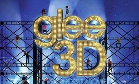 Glee 3D Poster