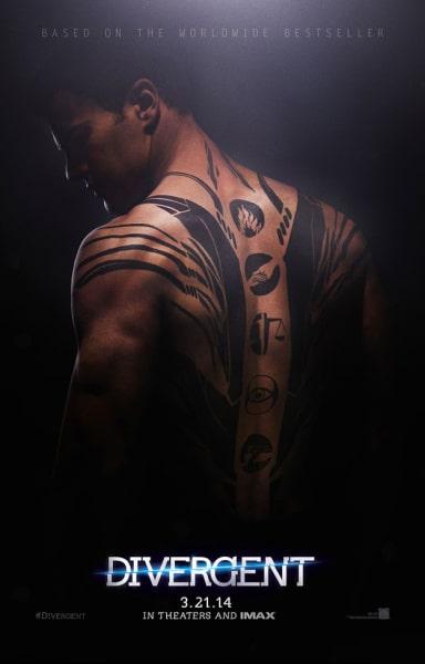 Divergent Poster Theo James
