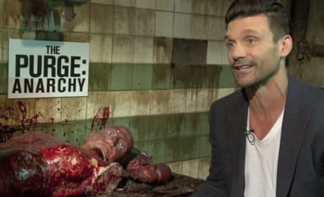 The Purge Anarchy Exclusive: Frank Grillo on Where Purge Idea Came From!