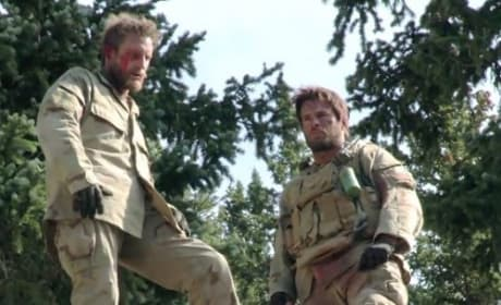 Lone Survivor Stunt Photo