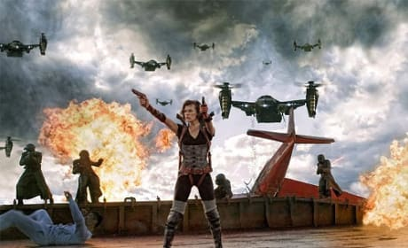 Milla Jovovich Stars in Resident Evil: Retribution