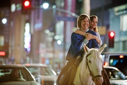 Christina Ricci and Nick Swardson in Bucky Larson
