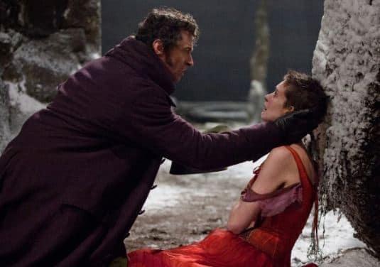 Hugh Jackman Anne Hathaway Les Miserables