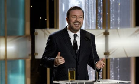 Ricky Gervais Says He's Invited Back To Golden Globes