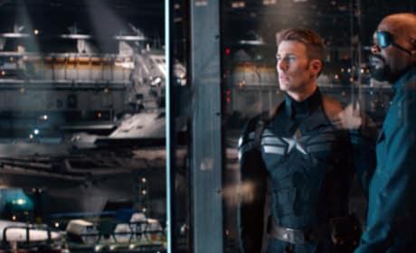 Captain America The Winter Soldier Samuel L. Jackson Chris Evans