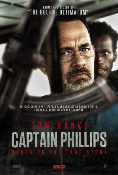 Captain Phillips Tom Hanks Poster