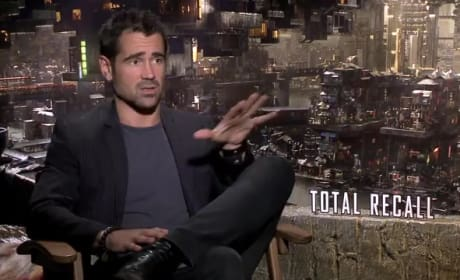 Total Recall Exclusive: Colin Farrell on Classic Story Resonance