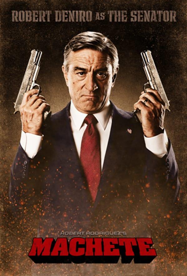 Machete Senator Poster