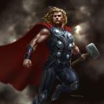 Thor Avengers Concept Art