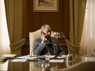 The President at his Desk