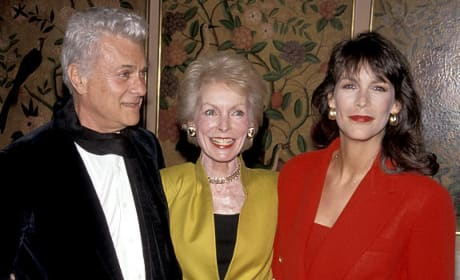 Tony Curtis Janet Leigh Jamie Lee Curtis