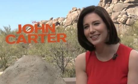 Lynn Collins Talks John Carter