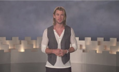 Chris Hemsworth in Making Of Feature for Snow White and the Huntsman