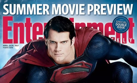 Man of Steel Makes EW Cover