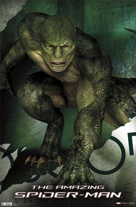 Rhys Ifans is The Lizard