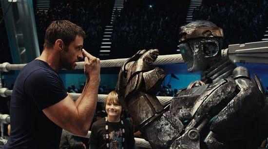 Real Steel Starring Hugh Jackman