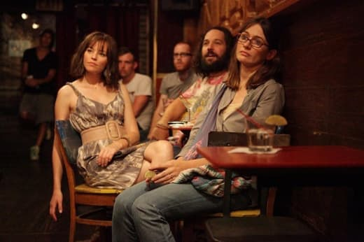 Paul Rudd and Emily Mortimer in Our Idiot Brother
