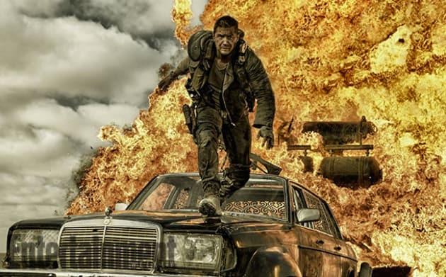 Mad Max Fury Road Star Tom Hardy