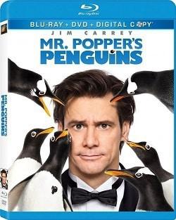 Mr. Popper's Penguins Blu-Ray