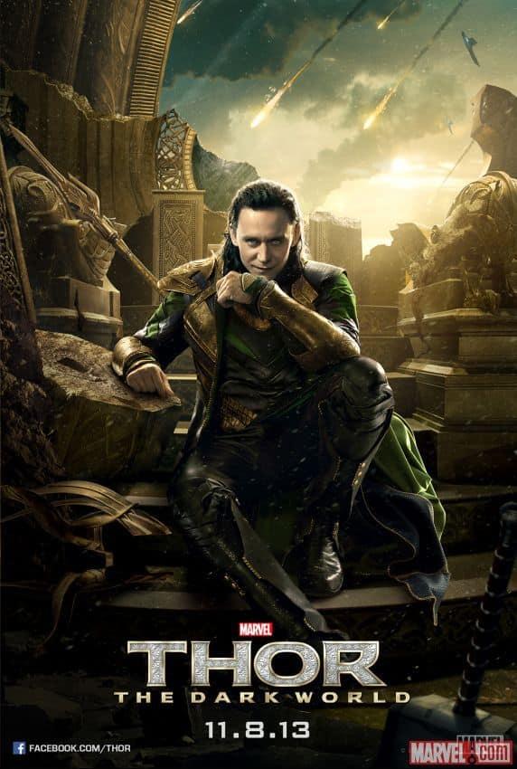 Thor The Dark World Character Poster: Loki