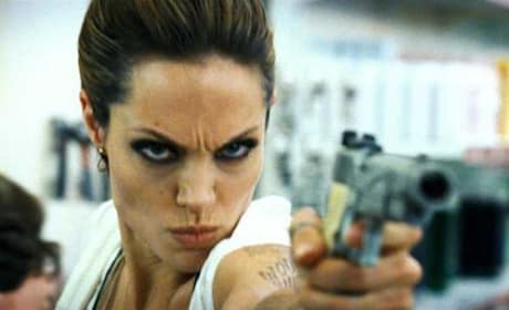 Angelia Jolie in Wanted
