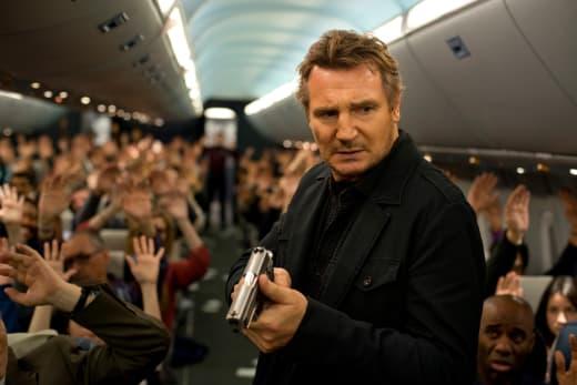 Non-Stop Stars Liam Neeson