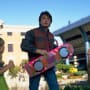 Back to the Future Part II Hoverboard Photo