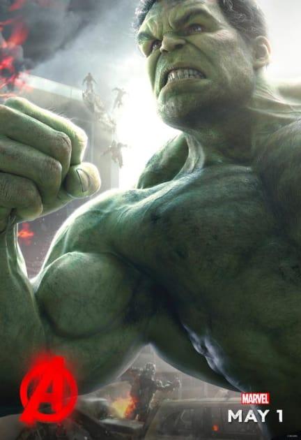 The Hulk Poster Flexes