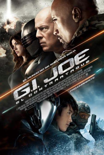 G.I. Joe: Retaliation International Poster - Spanish