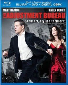 The Adjustment Bureau DVD