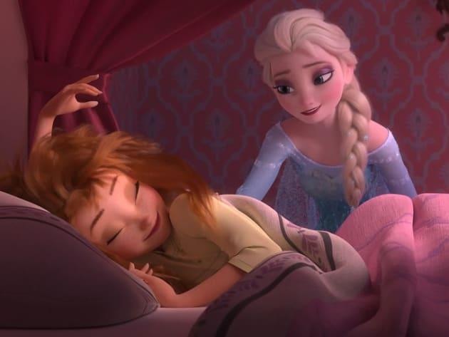 Frozen Fever Anna Elsa
