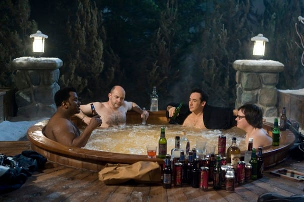Chillin' in the Hot Tub