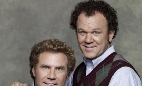 Will Ferrell and John C. Reilly are Step Brothers