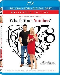 What's Your Number Blu-Ray