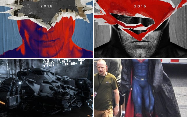 Batman v superman dawn of justice superman poster