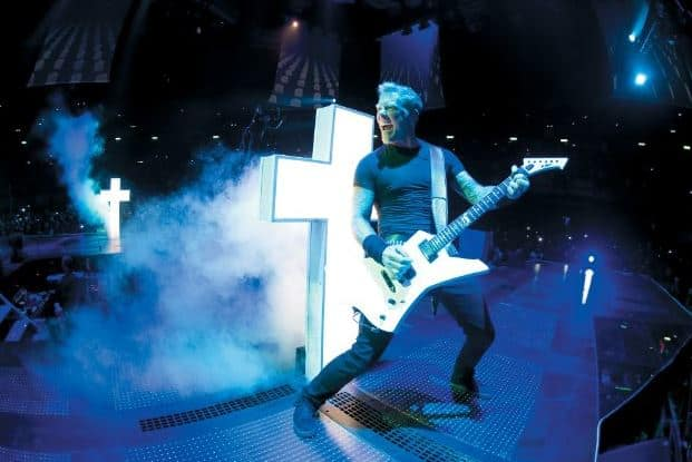 James Hetfield Metallica Through the Never