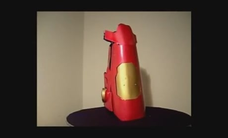 Homemade Iron Man Laser Gauntlets For Sale: Pop Balloons Like Iron Man