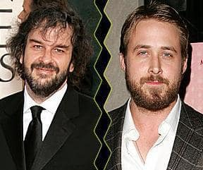 Ryan Gosling and Peter Jackson