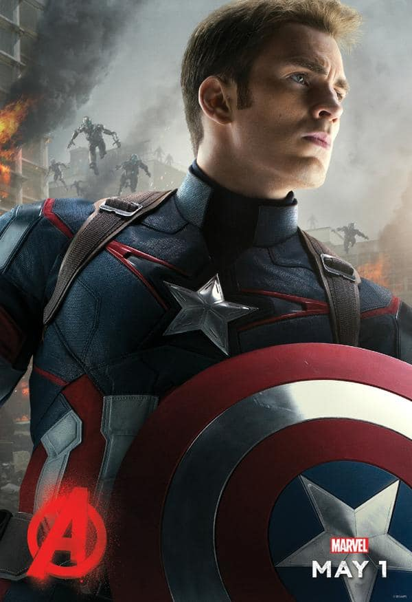 Avengers Age of Ultron Captain America Poster