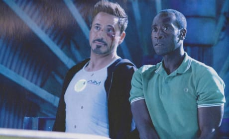 Robert Downey, Jr. Don Cheadle Iron Man 3