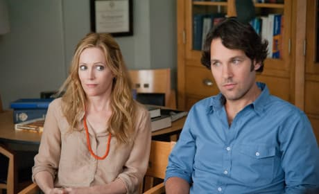 Leslie Mann and Paul Rudd This is 40