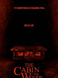 The Cabin in the Woods Split Up Poster