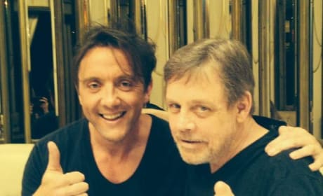 Peter Serafinowicz Mark Hamill Photo