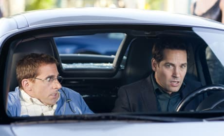 Steve Carell and Paul Rudd Fool Around in New Dinner For Schmucks Photos